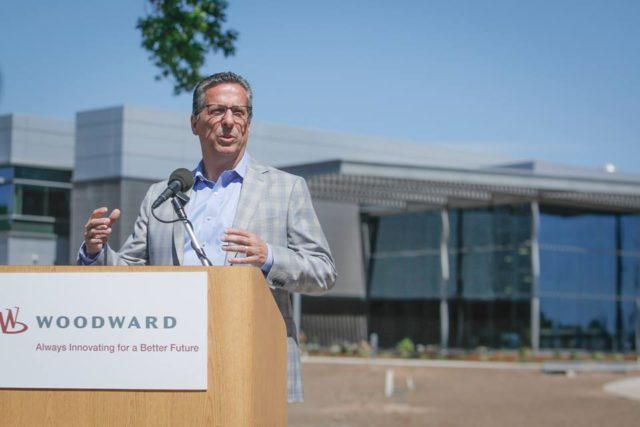 Woodward inauguró el Lincoln Campus